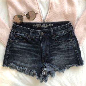 American Eagle denim jean shorts
